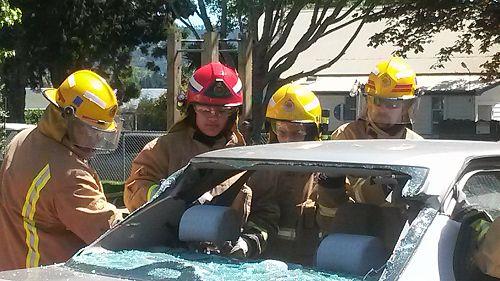 Fire Brigade at work