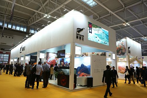 Our fifth annual stand at the China Fisheries & Seafood Expo in Qingdao.
