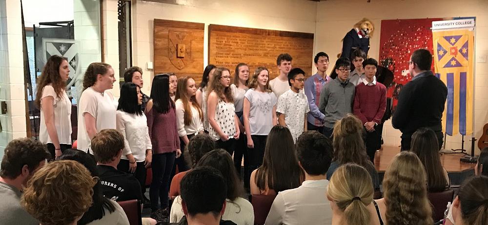 Big College Sing - 24 September 2017