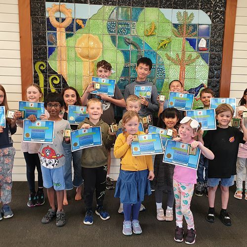 Our end of term 3 winners!