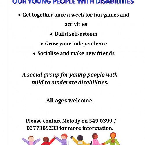 Support our young people with disabilities