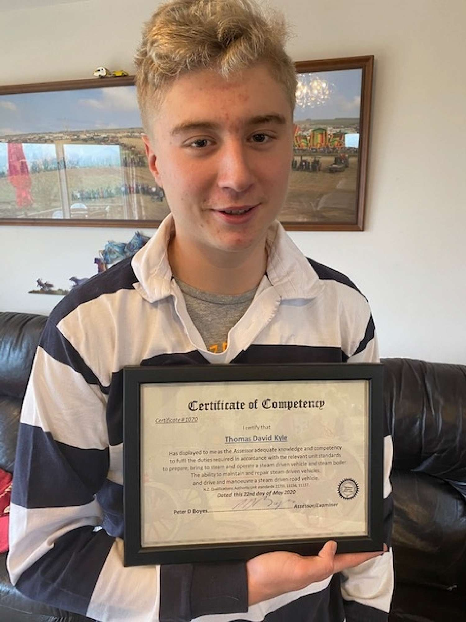 Thomas Kyle and his Certificate of Competency