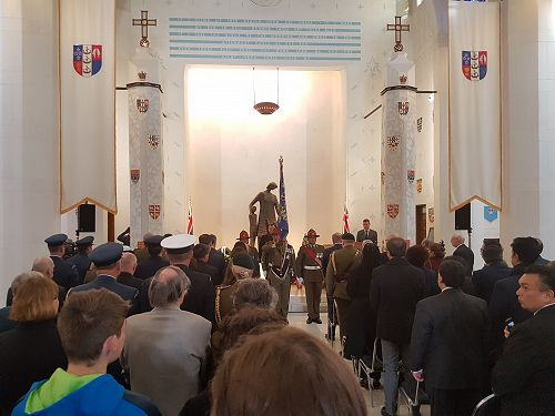 The 100 year commemoration of Messines Ridge. 3700 NZ soldiers suffered casualties in the assault.