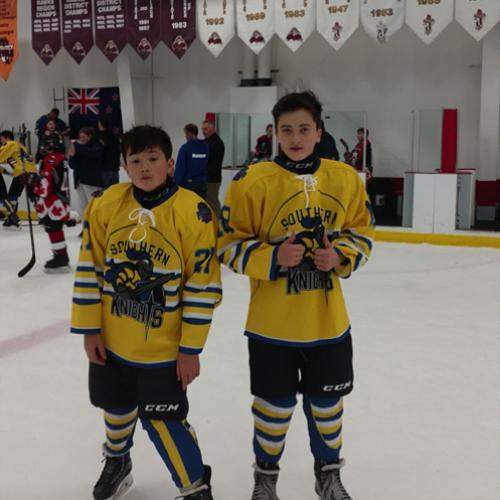Feilim Dougherty (Year 8) and Aidan Dougherty (Year 10)