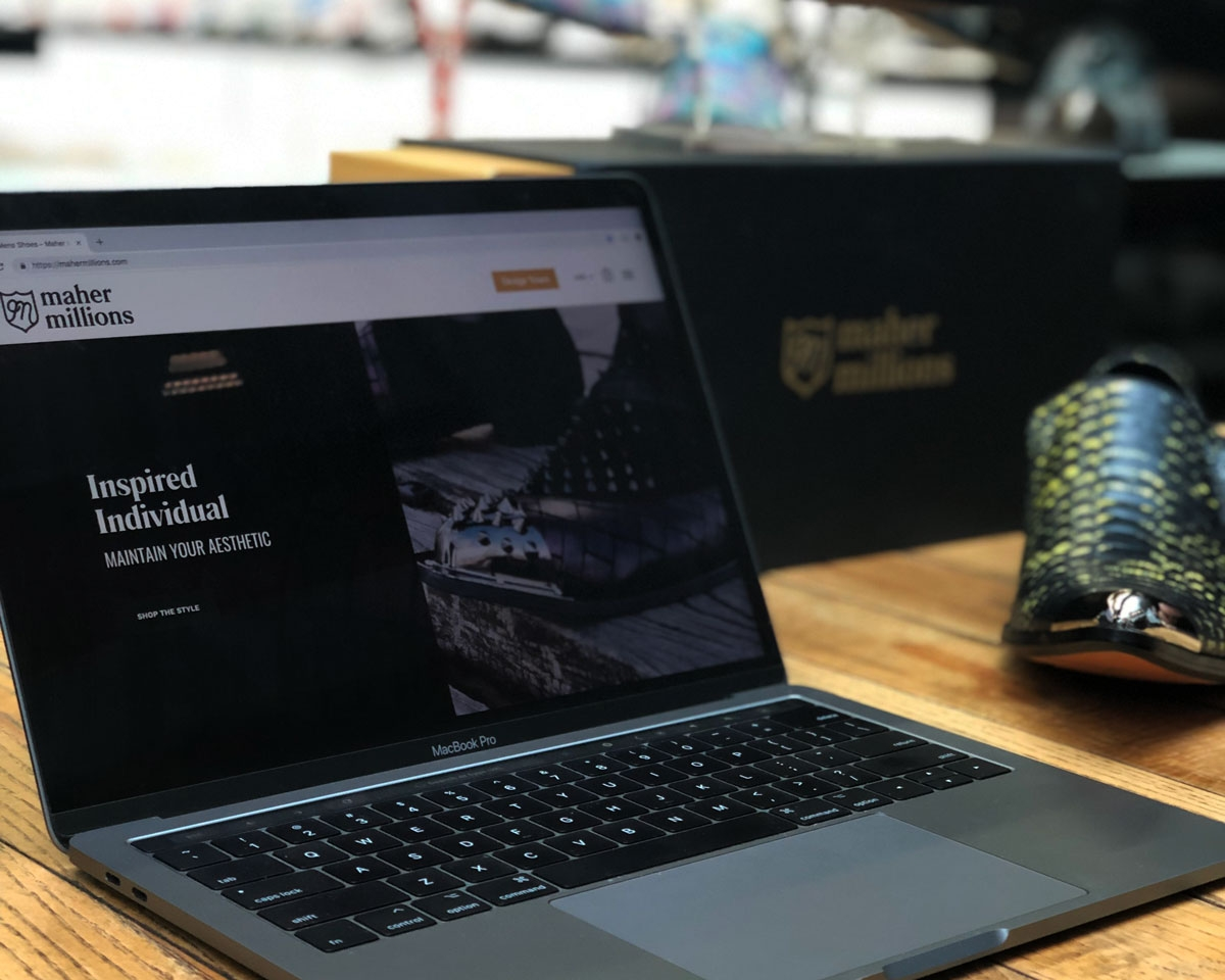 Maher Millions Launch - Website