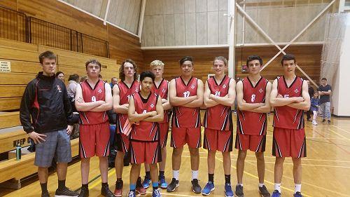 Senior Boys Basketball Team