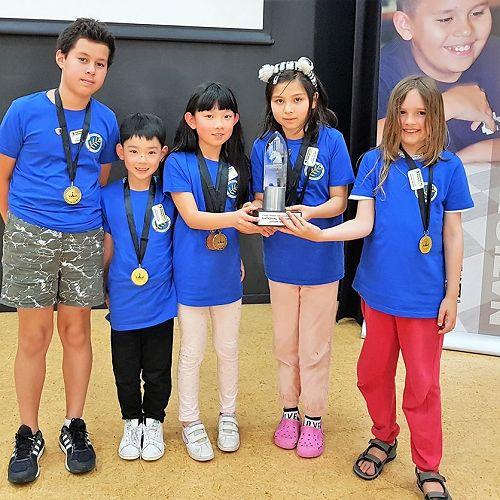 Winning Team - Chess Power Teams National Finals