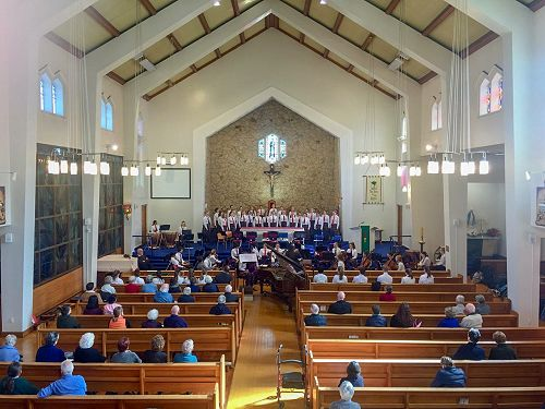 St Mary's Concert - choir