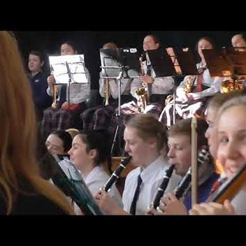 Video: CGHS CBHS Combined Orchestra performing the Pops Medley at Heaton Intermediate
