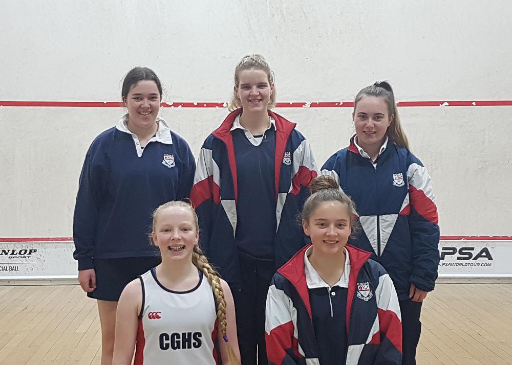 2018 New Zealand Secondary Schools Squash Championships