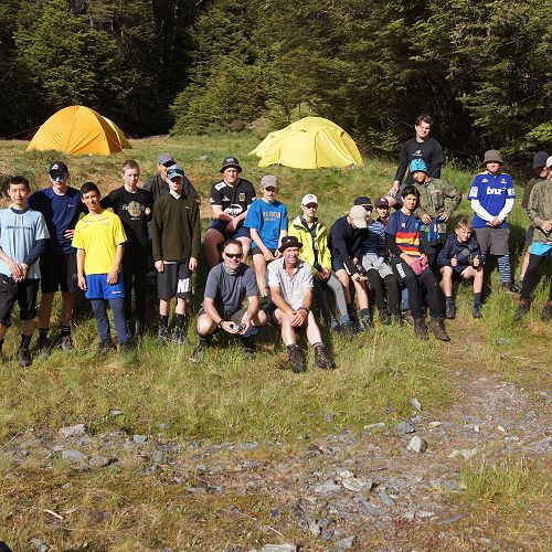 10JCU at the South Temple campsite