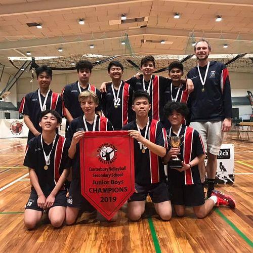 Year 10 A Volleyball Boys Team