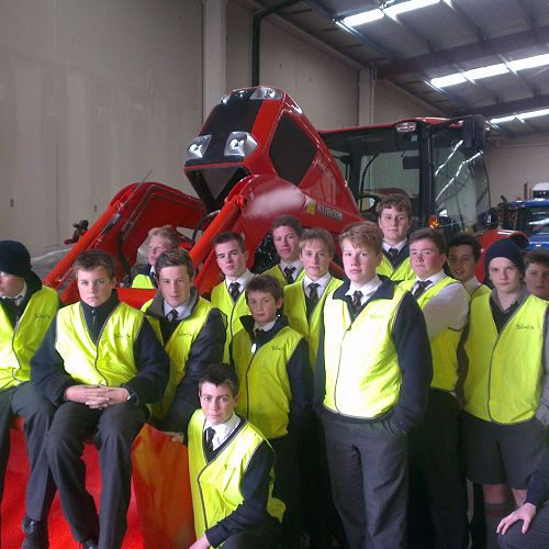 Year 10 rural Studies at Norwood's Farm Machinery