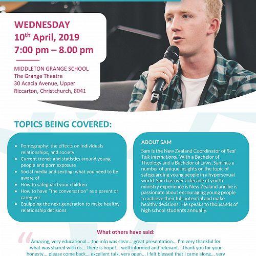 Real Talk NZ - Free Seminar