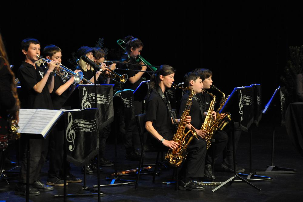 Jazz Band at NZEI Graduation