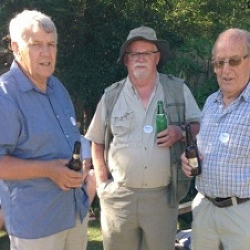 Jock Anderson (1961-64), Allan Smith (1944-46), Steve Pile (1961-65