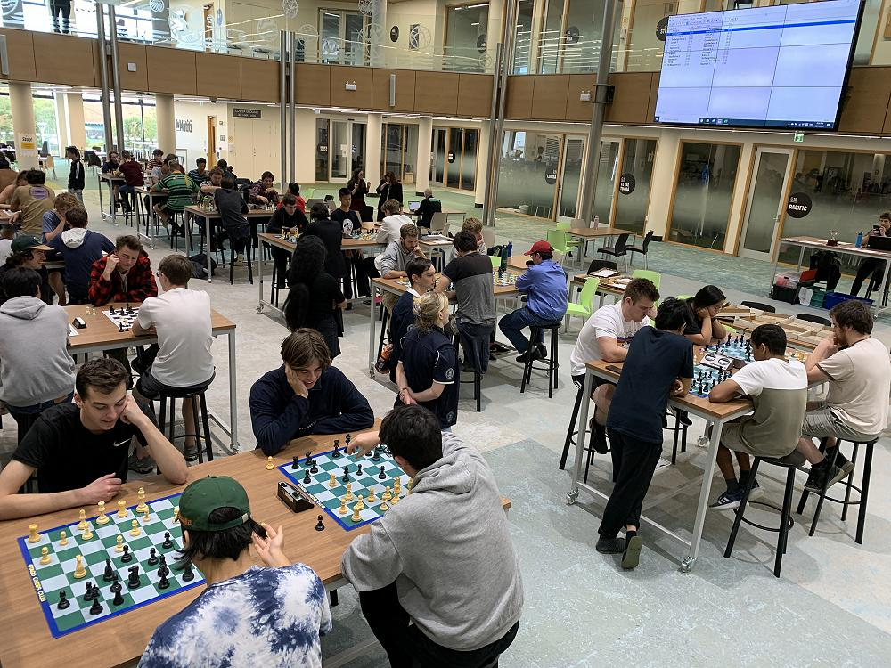 Inter-college Chess Competition, 18/4/21