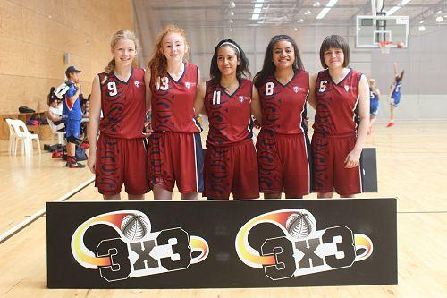 Junior girls team- National runner-up