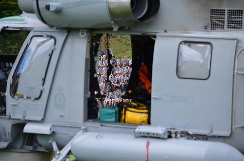 RNZ Navy Seasprite visit