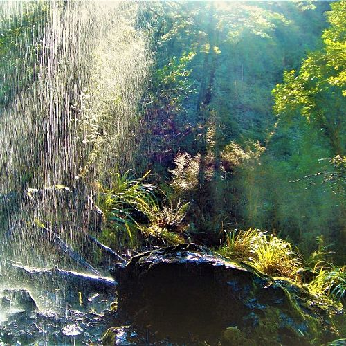 Oliver Lewis - Waterfall at Mount Somers