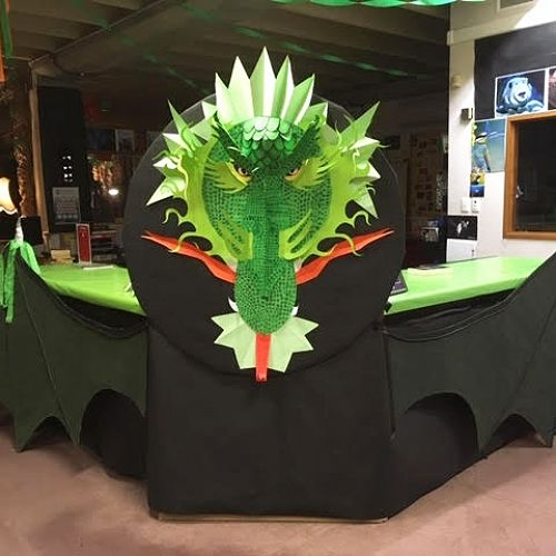 Book Week Library Dragon