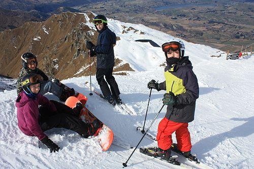 Coronet Peak Ski Trip August 2018