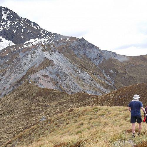Heading up Mt Aurum