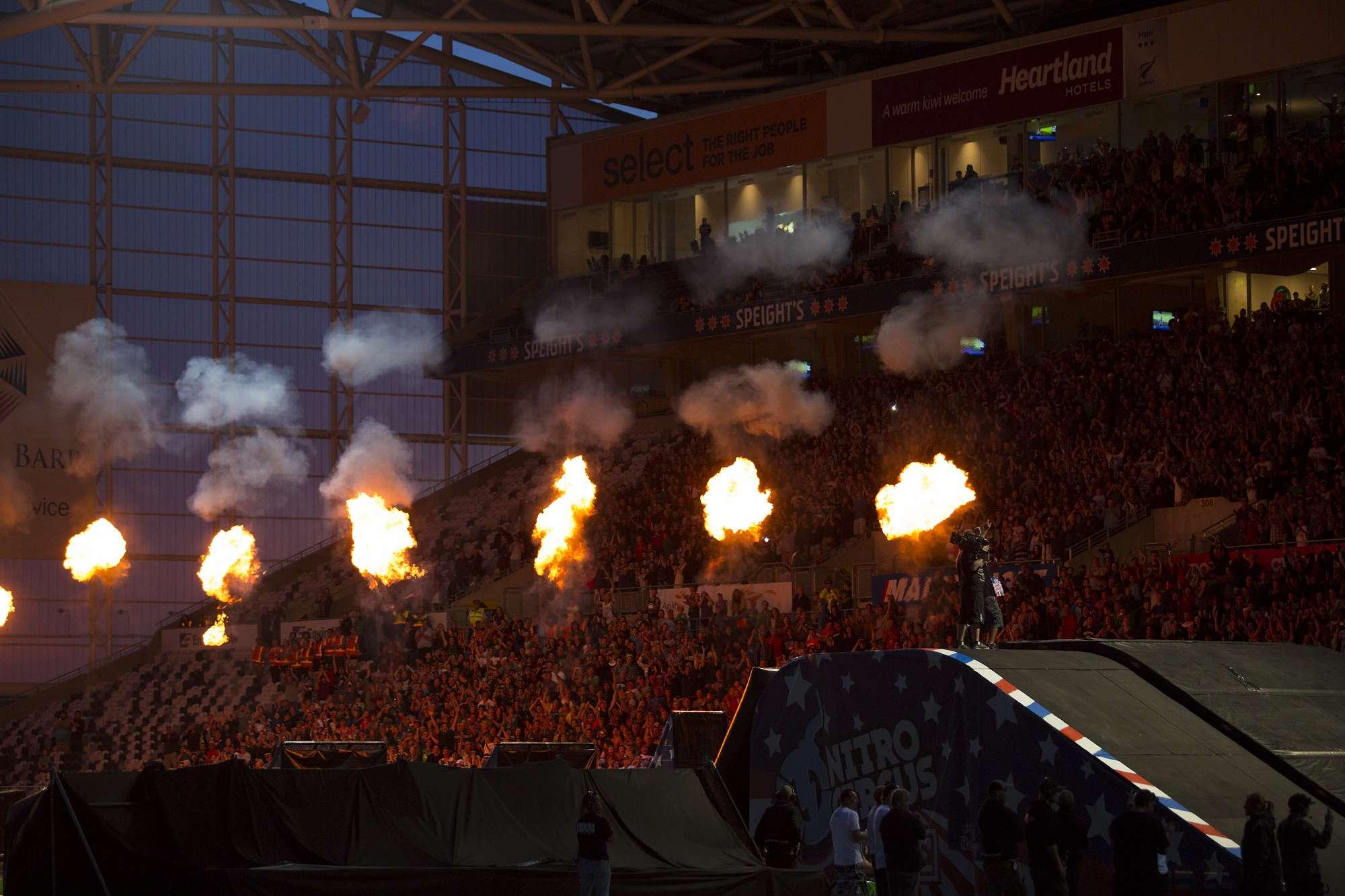 Nitro Circus at Forsyth Barr Stadium