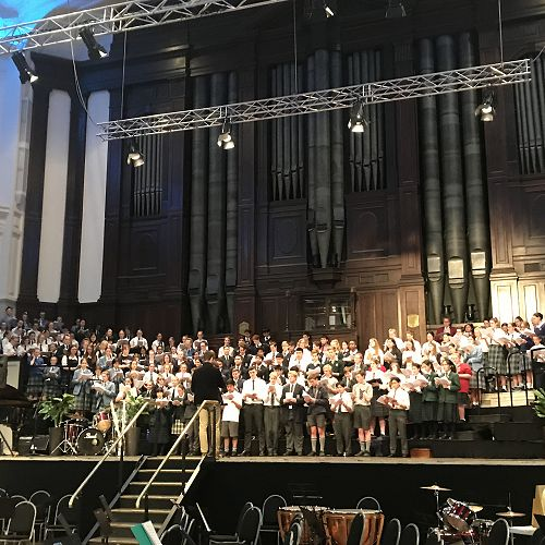 Massed Choir of the Otago Secondary Schools' Music Festival 2018
