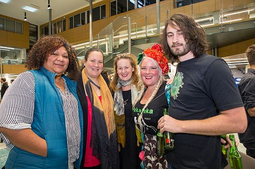 Chanel O'Brien with Tahu MacKenzie , Harvey Penfol