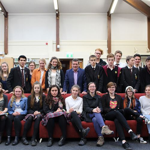 Student Meeting with the Minister of Immigration