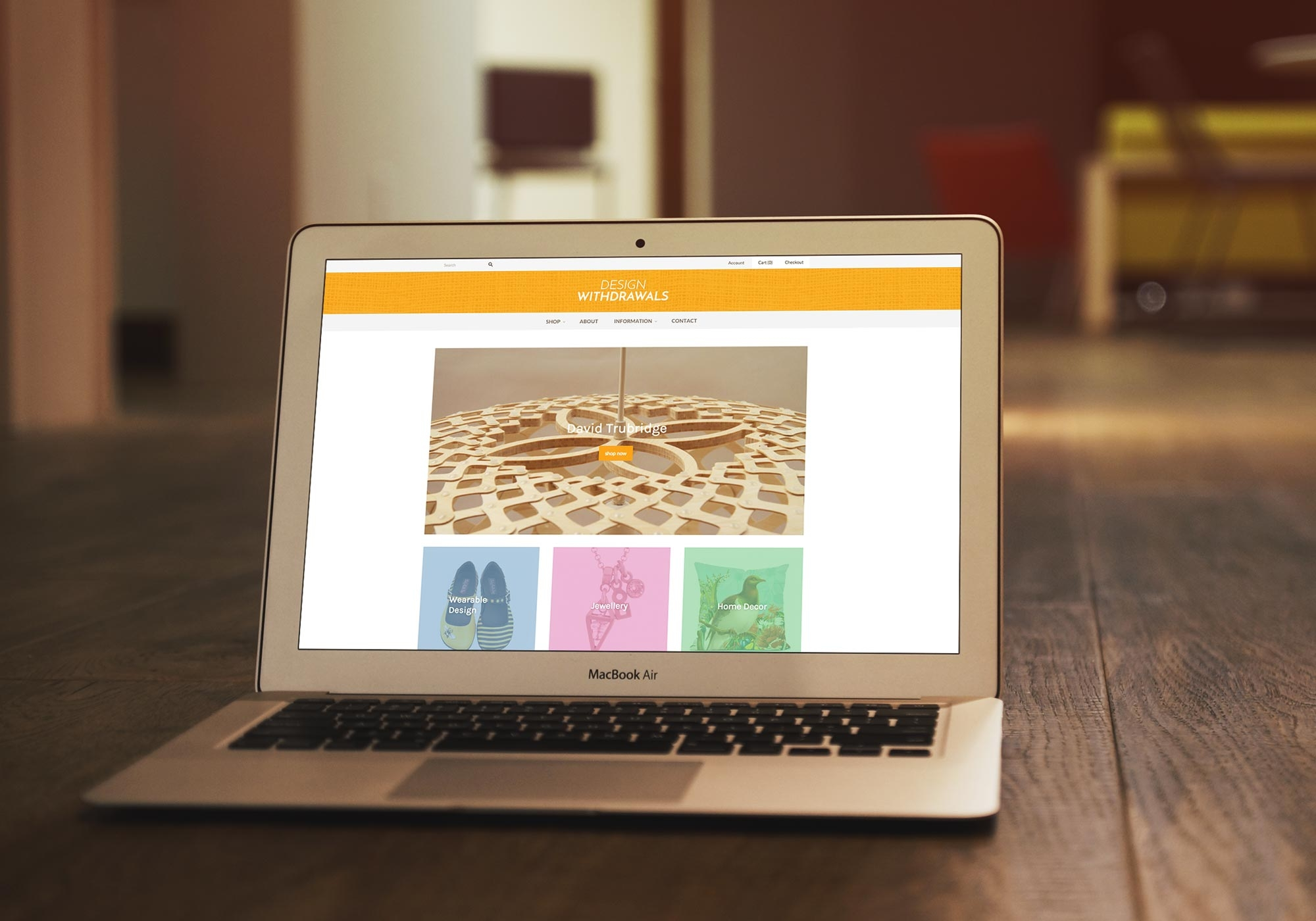Design Withdrawals Website Feature