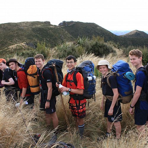 The Year 11 group approach The Gap for lunch on the first day