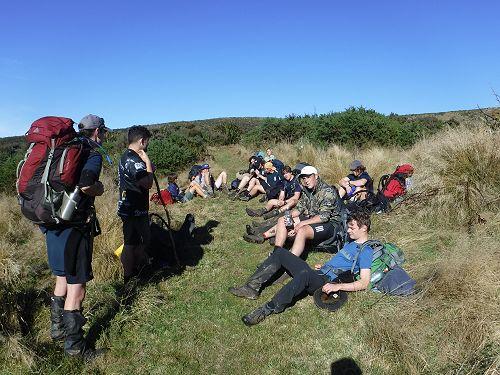 Year 13 Outdoor Education Silver Peaks Trip