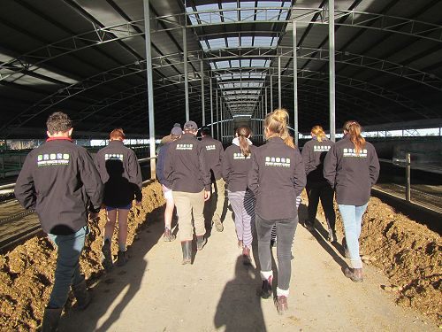 PIA visit to Jeff Gould's Dairy Barn
