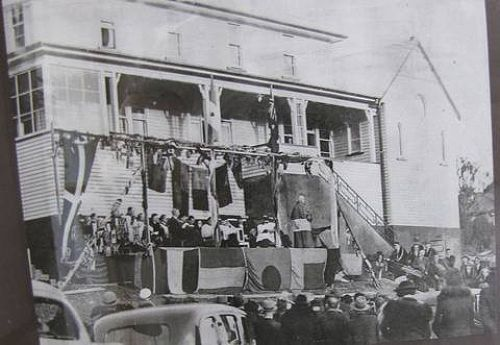 The opening of the Marist Brothers' House.