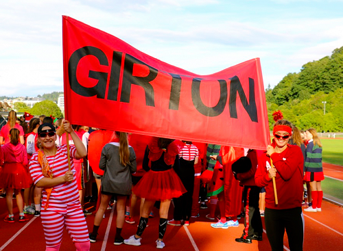 Girton is what? RED HOT!