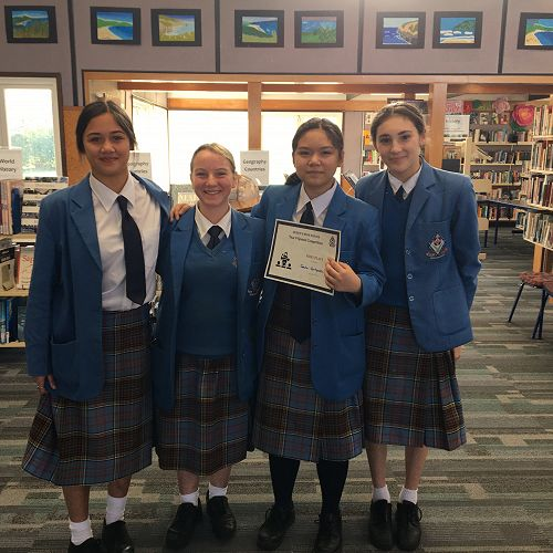 Year 9 Speech Competition Winners