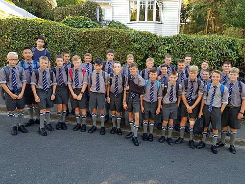 First day at Otago Boys High School-Year Nine