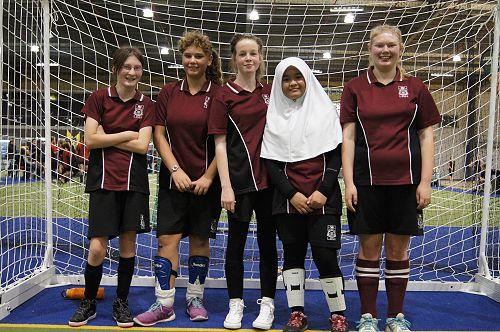 LPHS Purple Futsal Team
