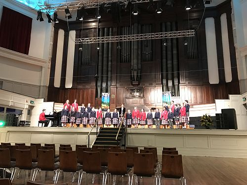 Kavanagh College Choir at The Big Sing 2017