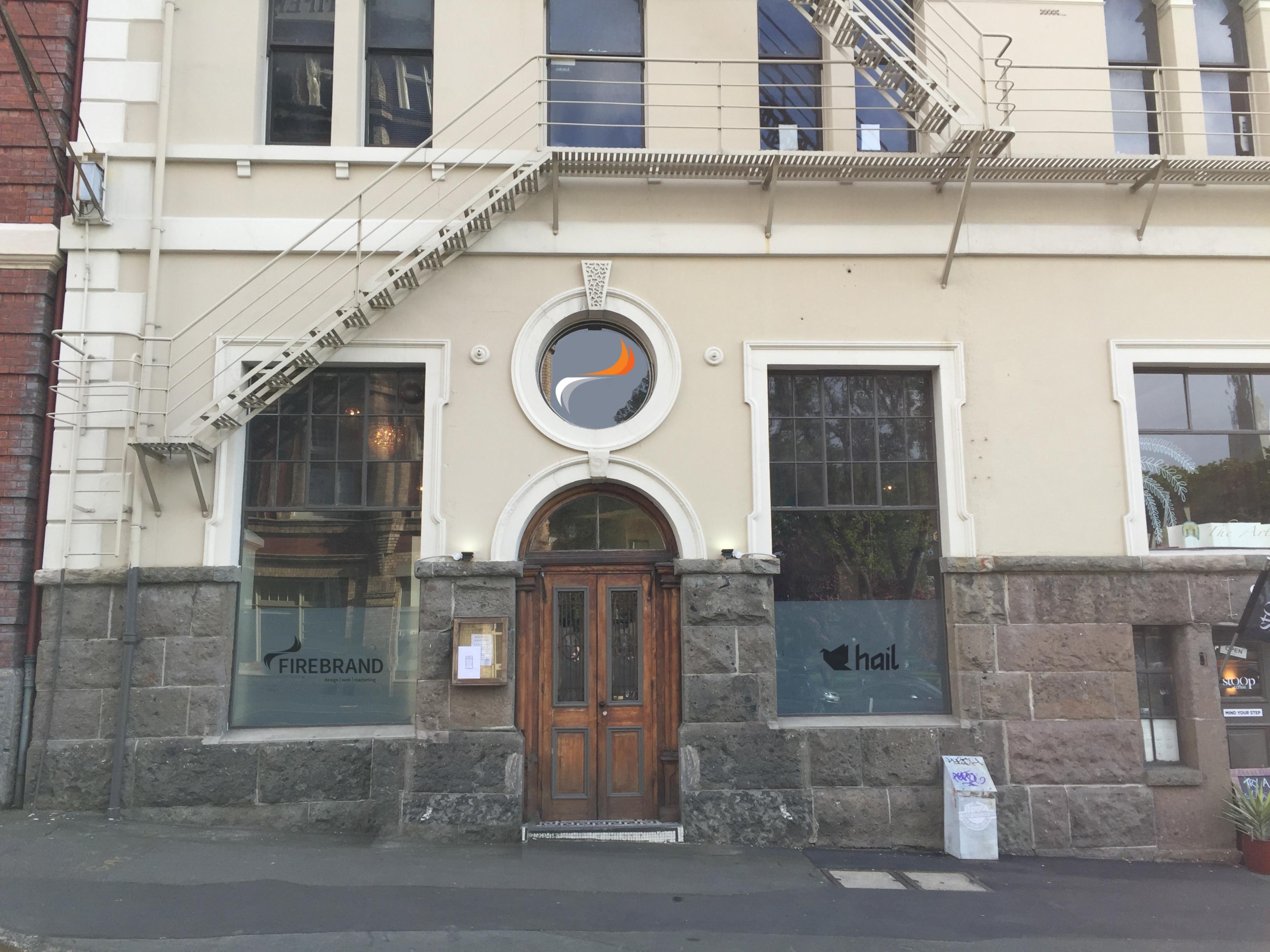 2 Dowling Street, Dunedin. Home of Firebrand and Hail.