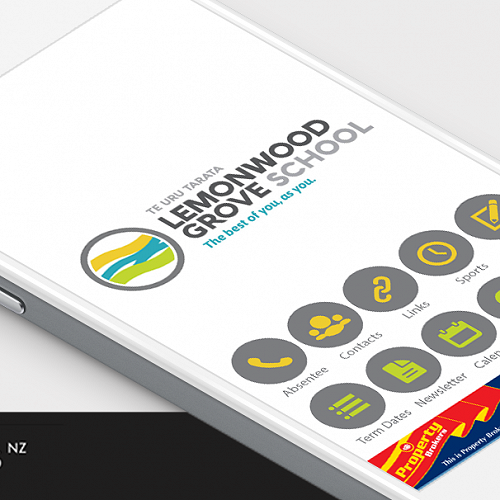 Lemonwood Grove's new School App