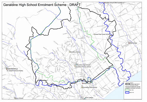 DRAFT GHS Enrolment Scheme Map