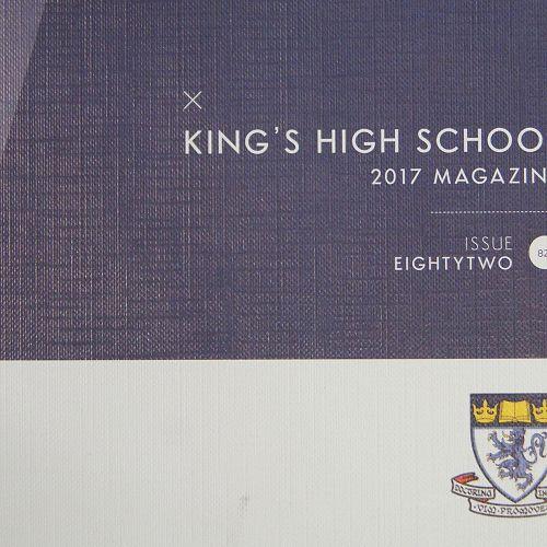 Order your school magazine now!