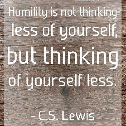 Virtue of the Week - Humility