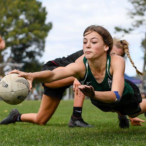 BHS Girls A Touch Team - SISS Tournament 2021