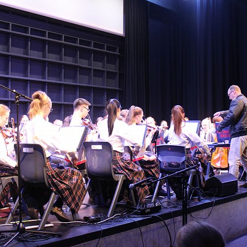 Orchestra and Concert Band