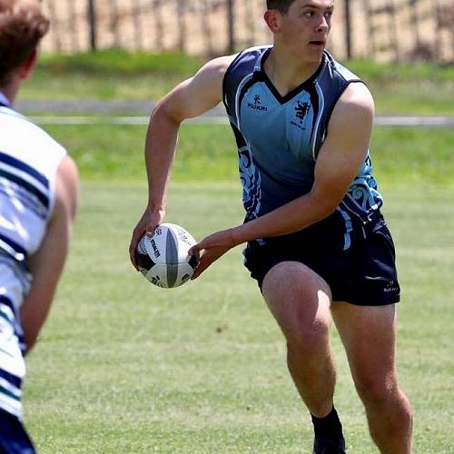 Henri Mitchell-Collie who leaves the Touch team this year