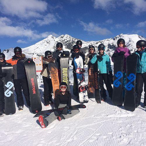 Year 12 Snowboarding Trip